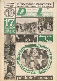 TREBLINKA - Archives du MRAP