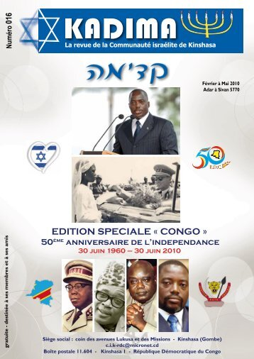 EDITION SPECIALE « CONGO » - HostGator