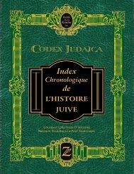 de L'HISTOIRE JUIVE - Codex Judaica Chronological Index of ...