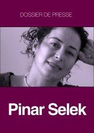 Dossier de presse - Pinar Selek