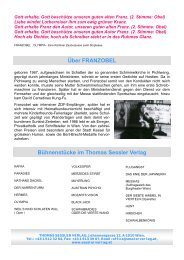 Über FRANZOBEL Bühnenstücke im Thomas Sessler Verlag