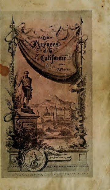 Les Pyrénées et la Californie - Ligue Henri IV