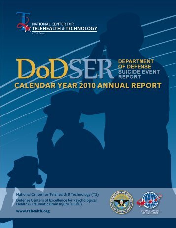calendar year 2010 annual report - National Center for Telehealth ...