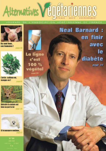 Numéro 96 (juin 2009) - Association Végétarienne de France