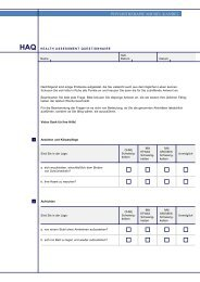 HAQ HEAL TH ASSESSMENT QUESTIONNAIRE - Physiotherapie ...