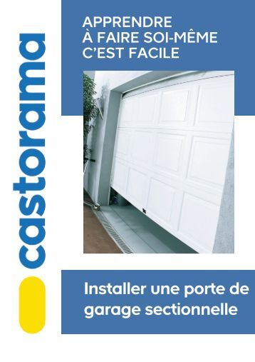 Encombrement et dimension for Porte de garage flexidoor