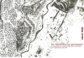De l'éphémère au permanent - EPFL