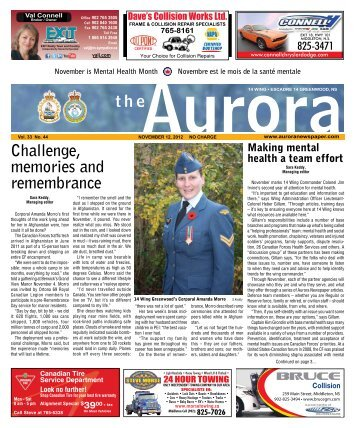 Nov 12 2012 - The Aurora Newspaper
