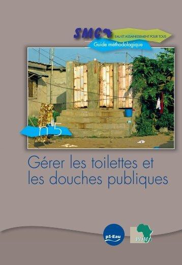 SMC: Guide 5: Gérer les toilettes et les douches publiques