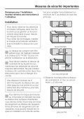 Instructions d'installation - Miele - Page 3