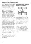 Instructions d'installation - Miele - Page 4