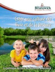 Créer une culture du livre et de la lecture - Gouvernement du ...