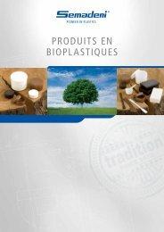 produits en bioplastiques - Semadeni AG