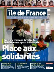 Place aux solidarités - Conseil régional