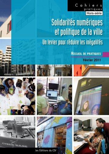 Solidarités numériques et politique de la ville - Délégation ...