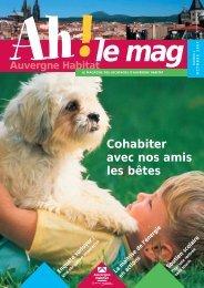 Cohabiter avec nos amis les bêtes - Auvergne Habitat