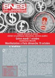 Télécharger le journal - SNES Aix-Marseille