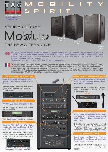 Brochure T.A.G 2013 - Audio Sud
