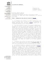 Préparation des plans de travail du 36 C/5; 2011 - unesdoc - Unesco