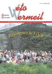 Bulletin N° 27 - Groupe National des Vétérinaires Retraités