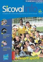 Sicoval info n° 40 (mars/avril 2007)