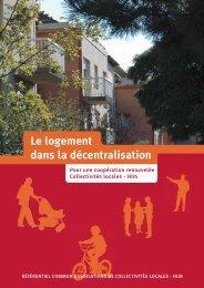 Le logement dans la décentralisation - Fédération des maires des ...