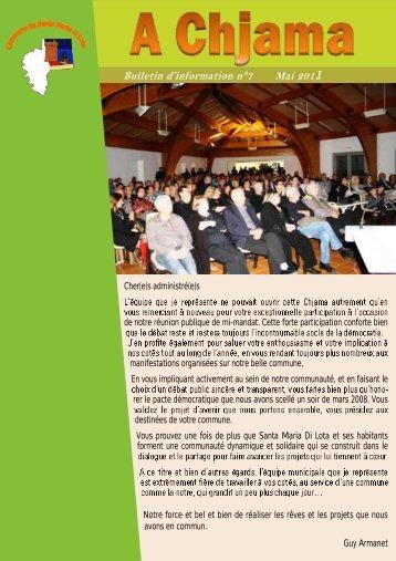 Télécharger le bulletin en PDF - la commune de santa maria di lota