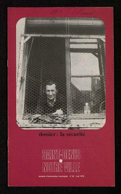 bulletin d'information municipal - Archives municipales de Saint-Denis