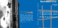 Revue Humanitaire n°4 - Médecins du Monde