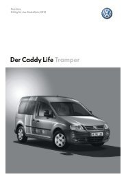 Der Caddy Life Tramper