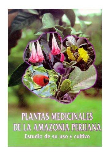 Plantas medicinales de la Amazonia Peruana