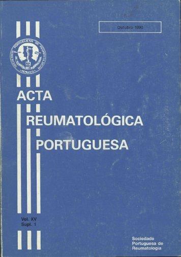 1990_ Vol XV Suplemento (1)_Out - Acta Reumatológica Portuguesa