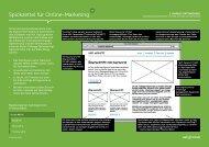 Spickzettel für Online-Marketing - web:--Contact
