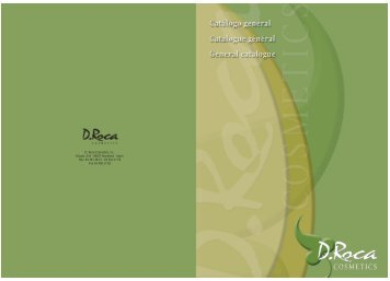 Catalogue in PDF - D. Roca