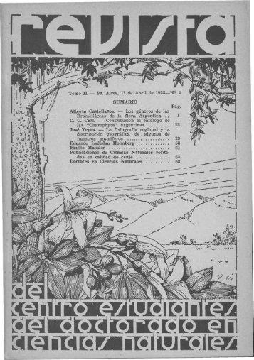 Biblioteca Digital   FCEN-UBA   Holmbergia Nº 4 Revista del Centro ...