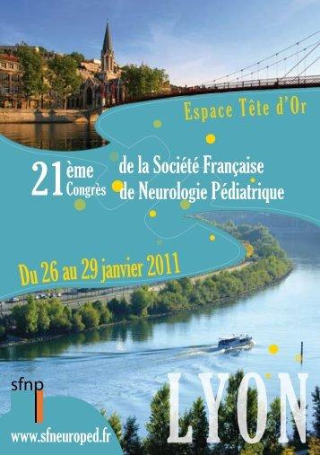 Espace Tête d'Or - Société Française de Neurologie Pédiatrique