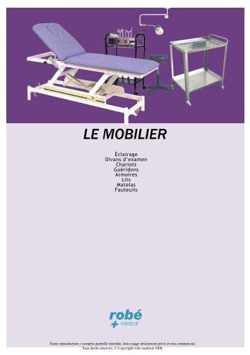 LE MOBILIER - Materiel medical