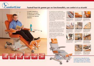 fauteuil releveur medtrade sos materiel medical pau. Black Bedroom Furniture Sets. Home Design Ideas