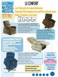 Fauteuil releveur MEDTRADE - SOS MATERIEL MEDICAL Pau