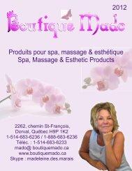 Catalogue 2012 - Boutique Mado