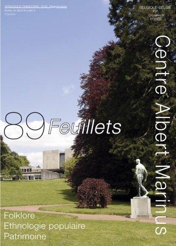 Feuillets - Centre Albert Marinus asbl