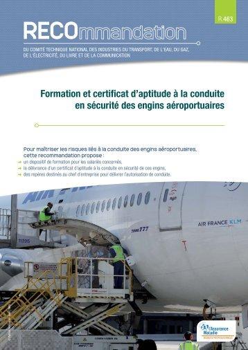 Formation et certificat d'aptitude à la conduite en sécurité ... - Ameli