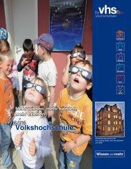 Volkshochschule. - weber - kommunikation