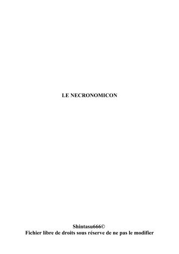 LE NECRONOMICON Shintasu666© Fichier libre de droits sous ...