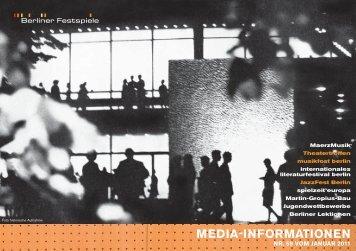 MEDIA-INFORMATIONEN - Runze & Casper