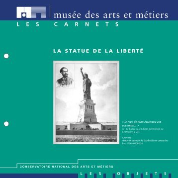 MAQUETTE CNAM- Statue Liberté - Musée des arts et métiers