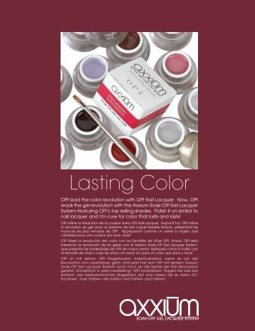 Lasting Color - Opi