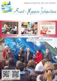 St Mammès Informations N° 54 mars avril mai 2013 - Saint-Mammès