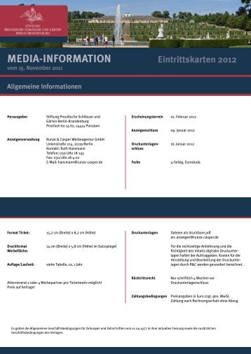 MEDiA-inFoRMATion - Runze & Casper