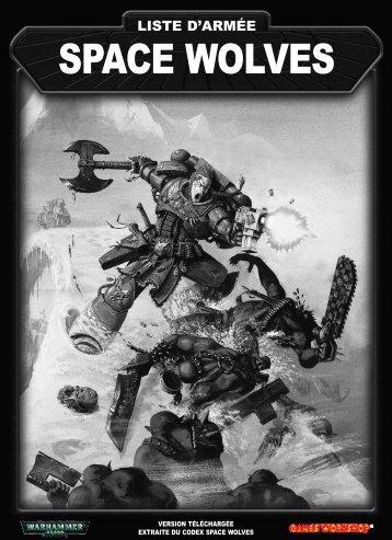 Liste d'armée Space Wolves Fr - Games Workshop